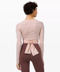 Gather and Grow Long Sleeve | Women's Long Sleeve Tops | lululemon Long Sleeve Tops, Bell Sleeve Top, High Rise Pants, Lululemon, Cotton Fabric, Sleeves, Clothes, Style, Hug