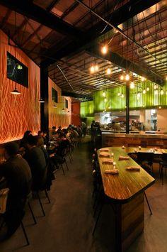 super hip restaurant