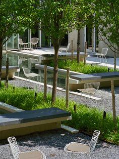 City Landscape, Landscape Architecture, Landscape Design, Pavement Design, Hospital Design, Urban Park, Public Seating, Modern Loft, Street Furniture