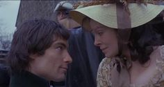 Heathcliff and Cathy - Wuthering Heights 1970 with Timothy Dalton and Anna Calder-Marshall