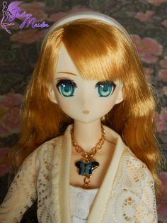 Olivia, OOAK Azone 50cm by Indigo Maiden - make up for dolls