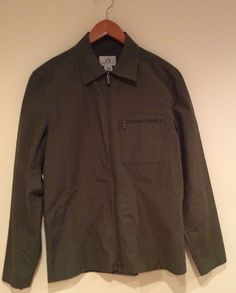 Armani Exchange  Men's Jacket, Size:S #Armani #Jacket #ArmaniJacket