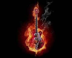 That guitar was on fire~! (Hendrix tribute)