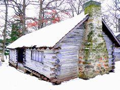 Log cabin in City Park  Iowa City, IA (ksl)