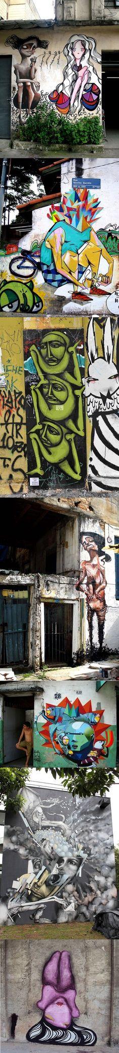 Street Art, Sao Paolo Brazil