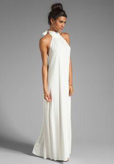 boho backless wedding dress - Rachel Pally $242
