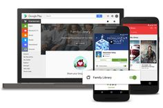 """Google officially announced this morning the launch of """"Family Library"""" - a program that allows up to six family members to share their…"""