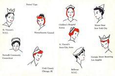 Vintage Nurse Caps