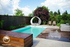 Benice, zahrada s bazénem   Atelier Flera