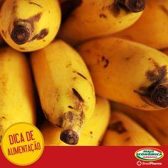 Comer banana (ou algum outro alimento rico em potássio e pobre em sódio) ajuda a perder peso e também nos exercícios, pois mantém a pressão arterial sob controle.