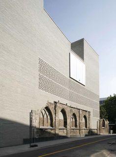 Kolumba Art Museum design by Peter Zumthor