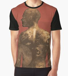 """""""The Illustrated Man - Ray Bradbury"""" Graphic T-Shirts by RedHillPrints - Redbubble 