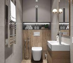 Das Bild kann enthalten: Innenraum Na obrázku môže byť: interiér - Marble Bathroom Dreams Bathroom Cabinets Over Toilet, Bathroom Barn Door, Bathroom Toilets, Bathroom Layout, Bathroom Interior Design, Bathroom Designs, Basement Toilet, Toilet Closet, Basement Bathroom