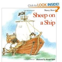 Modern fantasy- THis book talks about how sheep are running a ship. This is good in a classroom to teach about pirates and also teach about fantasy