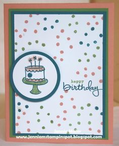 SUO-PPA214 Birthday by CraftyJennie - Cards and Paper Crafts at Splitcoaststampers