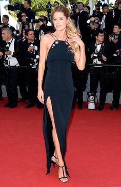 Doutzen Kroes in Mugler at Cannes 2015