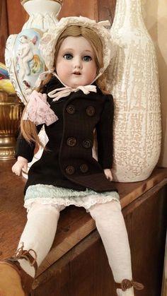 Armand Marseille Puppe antik Schlafaugen 370  A.M. 0  1/2 Brustblattpuppe in Antiquitäten & Kunst, Antikspielzeug, Puppen & Zubehör, Porzellankopfpuppen, Gefertigt vor 1945 | eBay