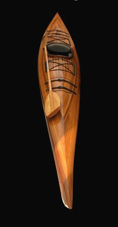 Someday I'm gonna build this...  #Wooden Miramichi Kayak Like, Repin, Share, Follow Me! Thanks!