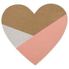 Heart-Shaped Corkboard/Wall Accessories/Wall Decor/Kids/Kids & Baby|Bouclair.com