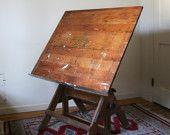Vintage Drafting Table.
