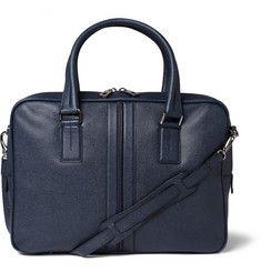 Tod's - Cross-Grain Leather Briefcase|MR PORTER