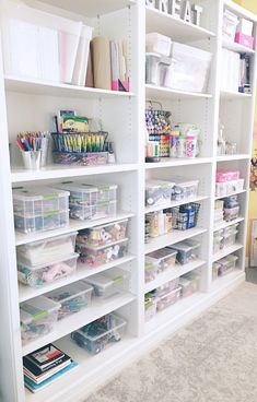 Organize with Mallory wants you to love your space again! We offer in-home and office organization services in the Central Arkansas area, as well as virtual services. Craft Closet Organization, Craft Room Storage, Craft Rooms, Craft Room Closet, Craft Room Design, Space Crafts, Craft Space, Home Office Space, Sewing Rooms