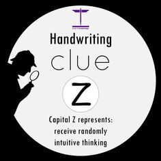 Handwriting Clue: Z Handwriting Analysis, Quick Thinking, Educational Psychology, Palm Reading, Palmistry, Decoding, Brain Teasers, Fun Facts, Language