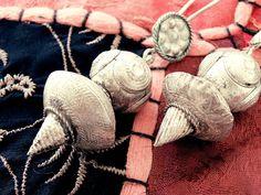 Bedouin earrings Berber jewelry Antique earrings by CarmelaRosa