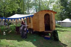 Jenna's Pennsic Home.  Built by Lars