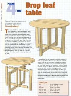 WoodArchivist is a Woodworking resource site which focuses on Woodworking Projects, Plans, Tips, Jigs, Tools Building Furniture, Furniture Plans, Diy Furniture, Woodworking Plans, Woodworking Projects, Drop Leaf Table, Table Plans, Wood Projects, Stool