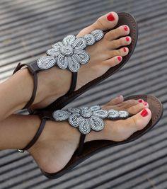 Aspiga   Sereni Leather Sandals by Aspiga