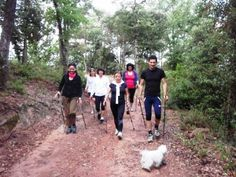 Nordic Walking. La Selva (Catalonia - Spain)