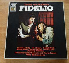 BEETHOVEN FIDELIO KLEMPERER Electrola HMV 063-00559/61 box