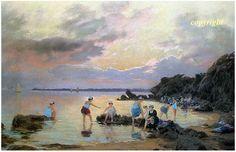 Concarneau et ses Peintres - Mathurin Janssaud 1857-1940