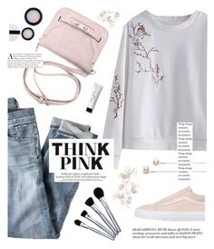 """""""TwinkleDeals"""" by yexyka ❤ liked on Polyvore featuring J.Crew, Vans, Bobbi Brown Cosmetics and Caeden"""