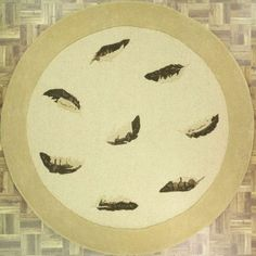 This handmade and tufted circular area rug is made from India with wool. Free Shipping within the US