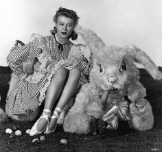 Vera-Ellen Easter in Hollywood