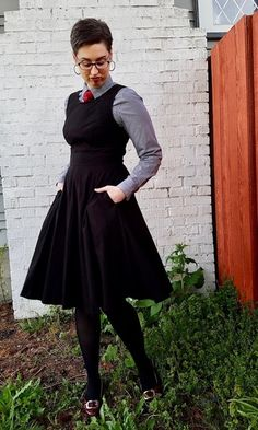 14d613128194c Shop the Look from Jen   Librarian for Life + Style on ShopStyleI mixed  feminine and masculine styles with a gingham .