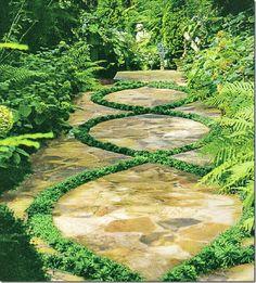 garden path - beautiful!
