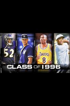 96, good year for sports. Greats of their games. Each one of them had to overcome something in their careers if it was murder, injuries, or scandals they pushed ahead and all won championships.