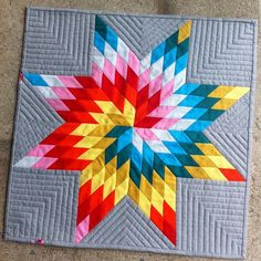 love the quilting pattern