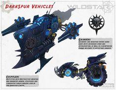 Darkspur Vehicles | Video Games Artwork