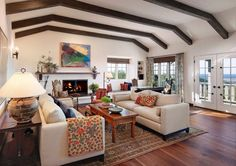 10 Gorgeous Ranch House Living Areas