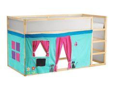 Letto a castello Playhouse / letto tenda / di CreativePlayShop
