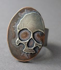 Skull ring - love this