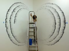 Amazing Finger Paintings on Wall by Judith Braun | My99Post | Funniest Fail Pics | Motivational Posters.