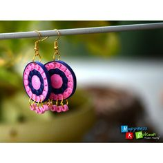 Handmade Jhumka Earrings-Jewellery-Happiness Ki Dukaan
