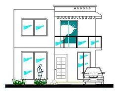 Planos de casas en autocad - Imagui