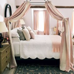 Summer Bedroom #cushions #OKA #SummerPreview #linen #sleeping #bedroom #patterned #paisley #pale #offwhite