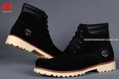 New Timberland Men's 6 Inch Soft-Toe Work Boots All Blak $85.00